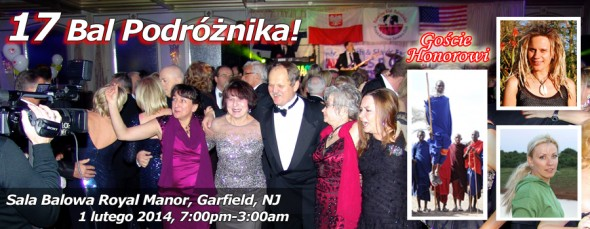 Zaproszenie na Bal Podroznika